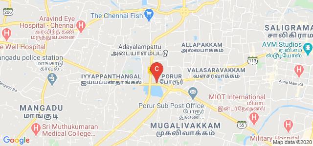 Venkateshwara Homoeopathic Medical College, Karambakkam, Padmavati Nagar, Porur, Chennai, Tamil Nadu, India