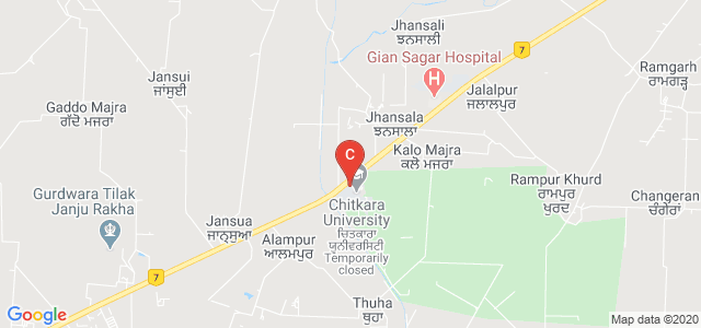 Chitkara School of Mass Communication, National Highway 44, 64, Tehsil, Rajpura, Punjab, India