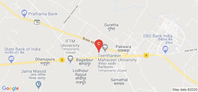 Teerthanker Mahaveer College of Nursing, Moradabad, Uttar Pradesh, India