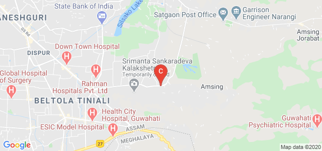 Regional College of Paramedical Health Sciences, Batahguli, Guwahati, Assam, India