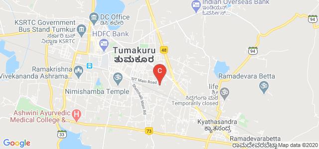 Siddaganga Institute Of Technology, Tumakuru, Bengaluru - Honnavar Road, Chandana Complex, Tumakuru, Karnataka, India