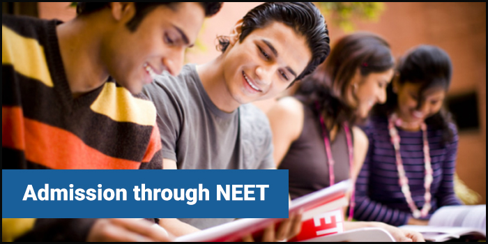 Admission through NEET