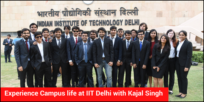 Experience Campus life at IIT Delhi with Kajal Singh