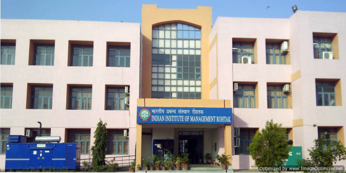 IIM Rohtak Admission Criteria 2019: Equal Weightage to CAT score and Candidate's Profile