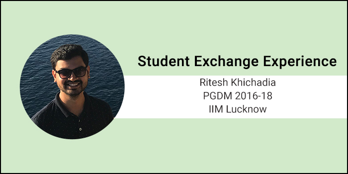 Student Exchange Experience: Emlyon Business School focuses extensively on group activities, says Ritesh Khichadia of IIM Lucknow