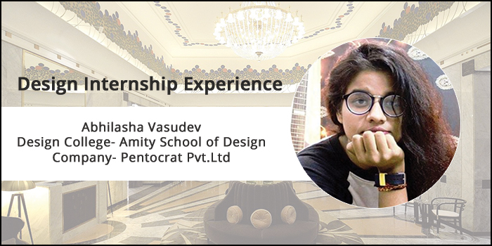 Design Internship Experience: How Amity School of Design student Abhilasha learnt to manage client expectations