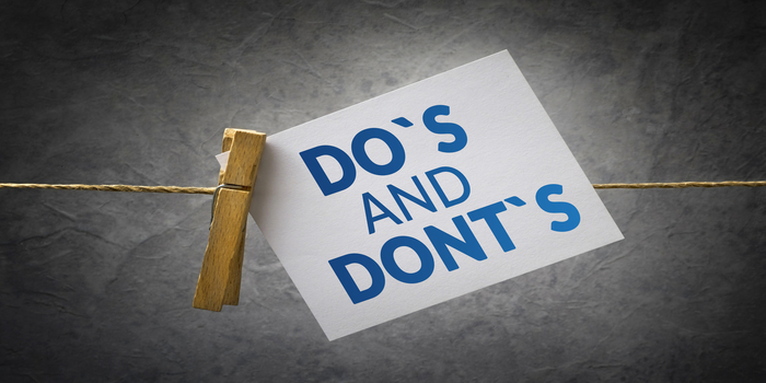 Do's and Don'ts for NEET 2019