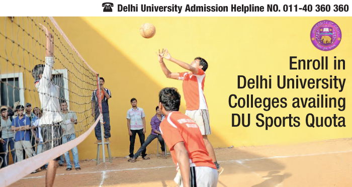 Delhi University Admissions 2014: Good in Sports, Avail DU Sports Quota