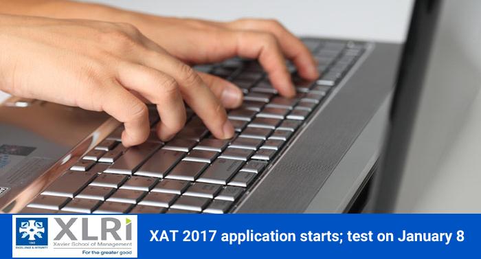 XAT 2017 application starts; test on January 8