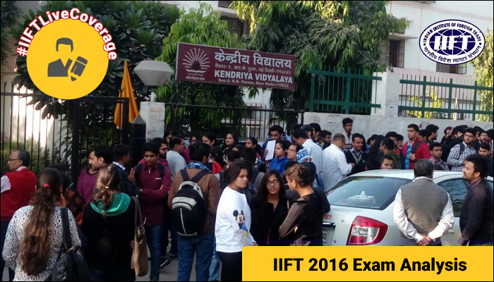 IIFT 2016 Analysis – Easy to moderate paper with 123 questions; maximum weightage on DI & LR section