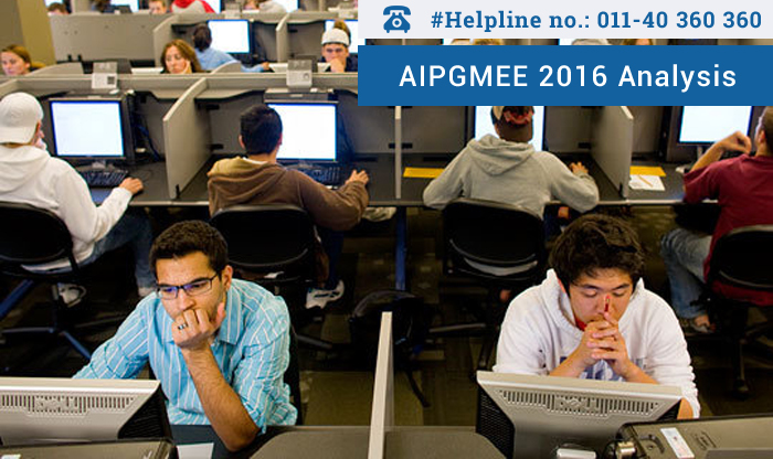 AIPGMEE 2016 Analysis - Candidates find Pre- Clinical tricky