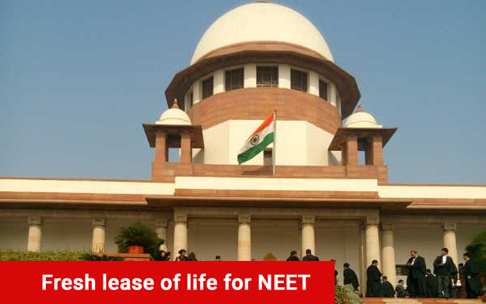 Fresh lease of life for NEET