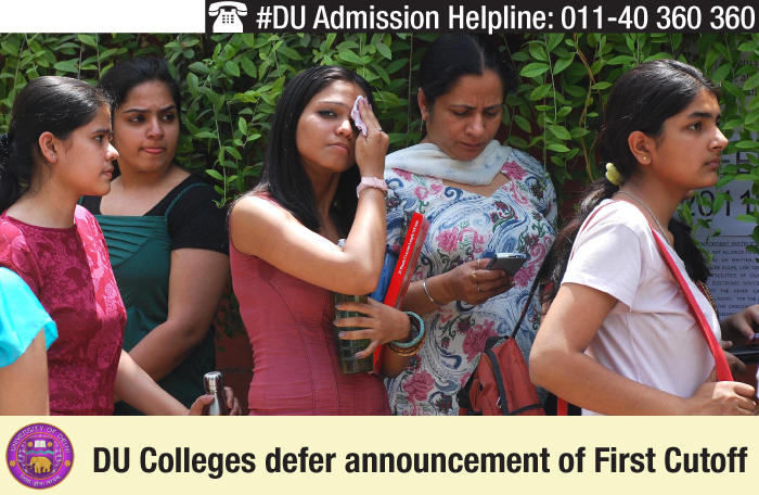 DU Colleges defer cutoff announcement; seek clarity on UG structure