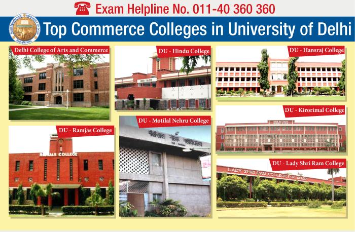 Top Commerce Colleges in Delhi University 2014