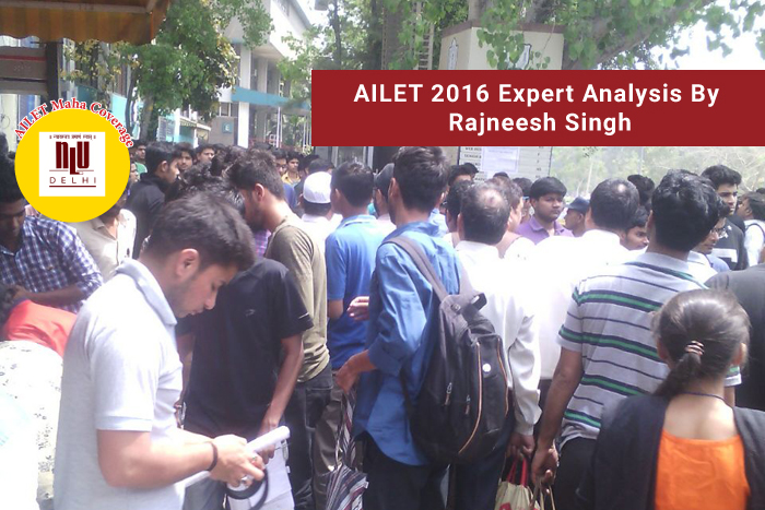 AILET 2016 exam analysis: 'English, the easiest and reasoning difficult to score' says Rajneesh Singh