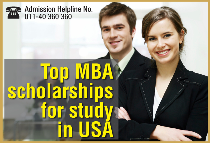 MBA Scholarships for Indian students in USA