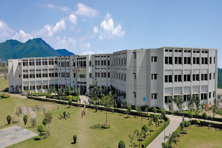 Baddi University of Emerging Sciences and Technology, Baddi  Campus View of Baddi University of Emerging Sciences and Technology Baddi