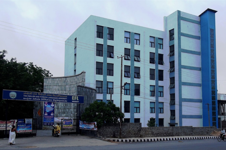 English and Foreign Languages University, Hyderabad  Campus view of English and Foreign Languages University Hyderabad