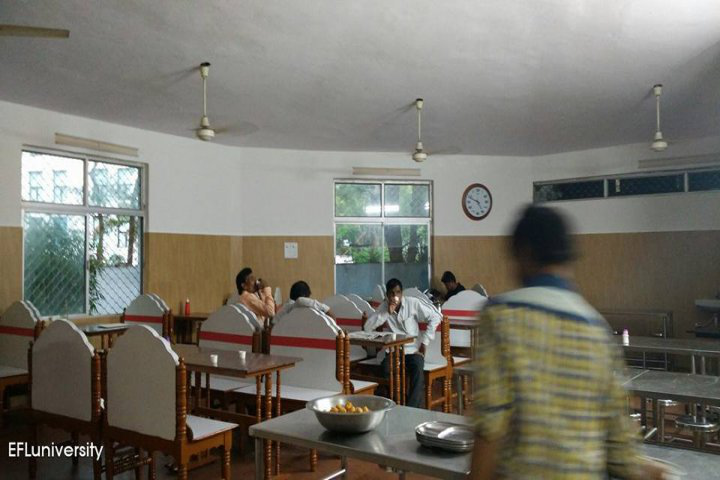 English and Foreign Languages University, Hyderabad  Canteen of English and Foreign Languages University Hyderabad