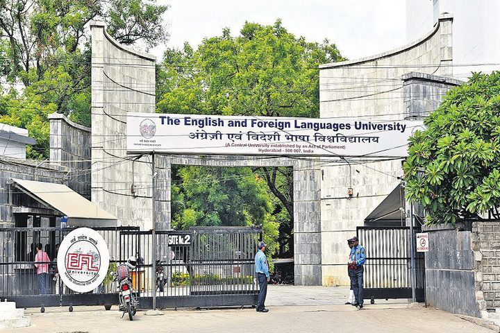 English and Foreign Languages University, Hyderabad  Entrance of English and Foreign Languages University Hyderabad
