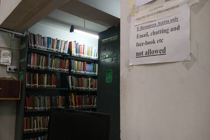 English and Foreign Languages University, Hyderabad  Library of English and Foreign Languages University Hyderabad