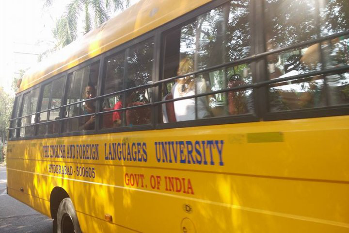 English and Foreign Languages University, Hyderabad  Transport Facility of English and Foreign Languages University Hyderabad