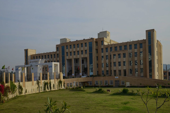 IEC University, Baddi  Campus view of IEC University Baddi