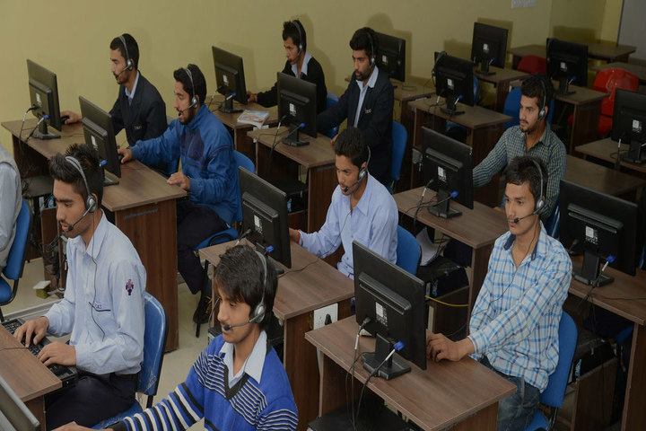 IEC University, Baddi  Communication Lab of IEC University Baddi