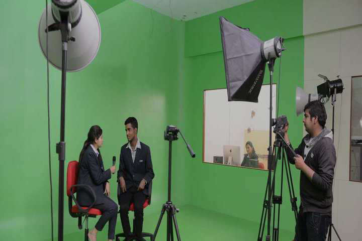IEC University, Baddi  Green room Studio of IEC University Baddi