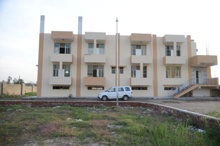 IEC University, Baddi  Hostel Bulding of IEC University Baddi