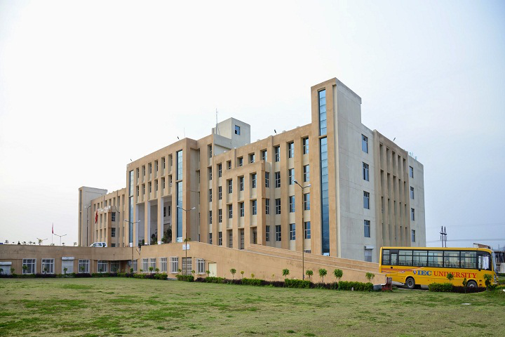 IEC University, Baddi  Left view of IEC University Baddi