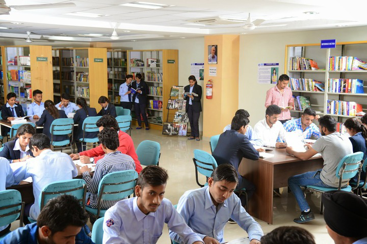 IEC University, Baddi  Library Reading Area of IEC University Baddi