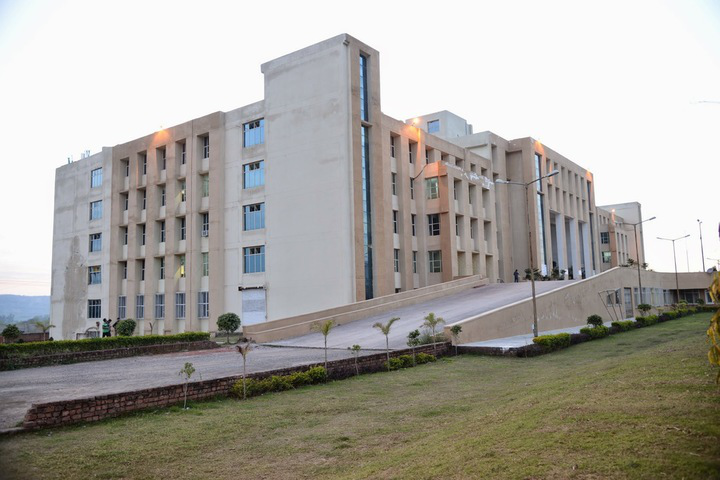 IEC University, Baddi  Right Side view of IEC University Baddi