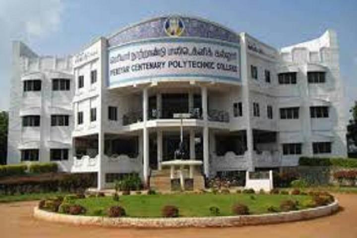 Periyar Centenary Polytechnic College, Thanjavur - courses, fee, cut