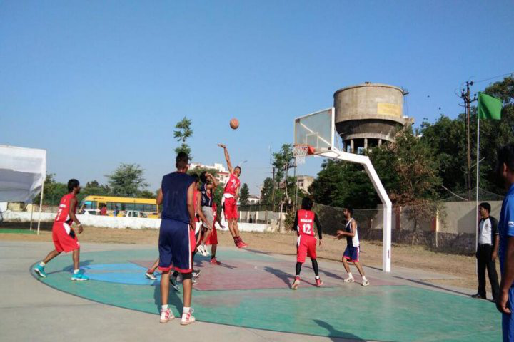 Jagran Lakecity University, Bhopal Basket Ball of jagran lakecity university bhopal