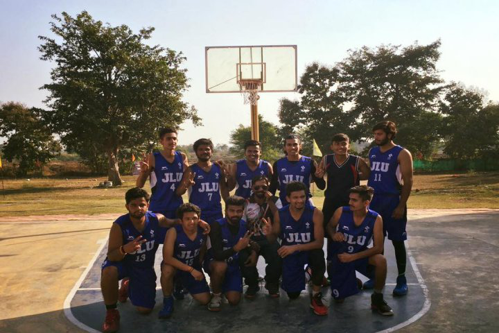 Jagran Lakecity University, Bhopal Sports team of jagran lakecity university bhopal