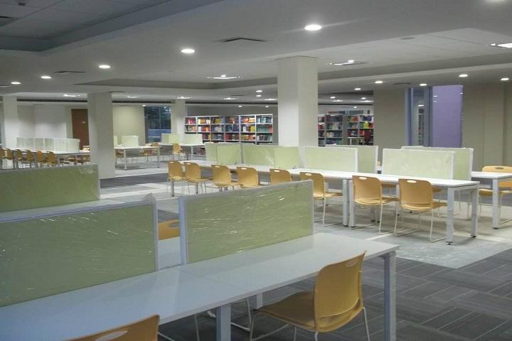 BML Munjal University, Gurgaon  Library Reading area BML Munjal University Gurgaon_Library