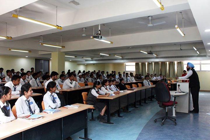 BML Munjal University, Gurgaon  Class room of BML Munjal University Gurgaon_Classroom