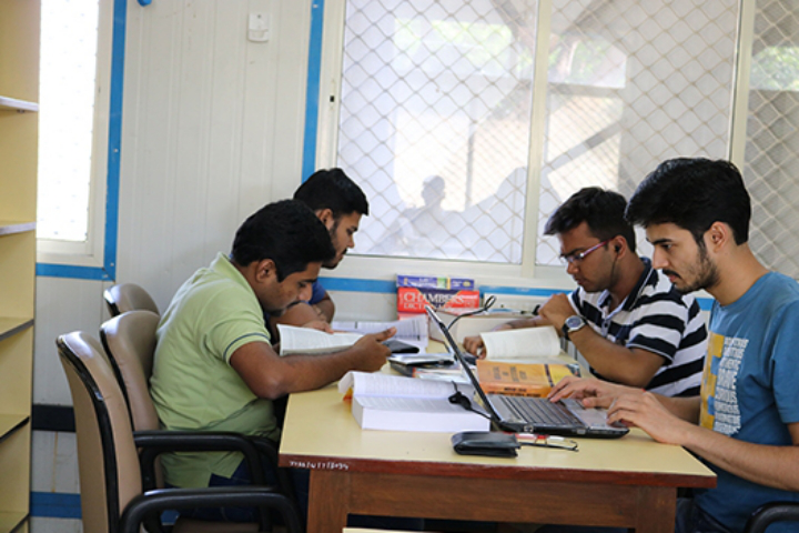 Maharashtra National Law University, Mumbai Student at library Maharashtra-National-Law-University-Mumbai10