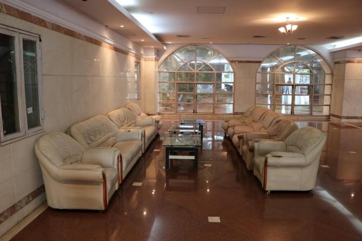 Maharashtra National Law University, Mumbai Waiting room of Maharashtra National Law University, Mumbai