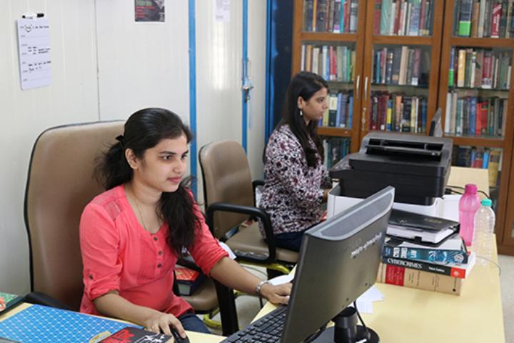 Maharashtra National Law University, Mumbai Library View of Maharashtra National Law University, Mumbai