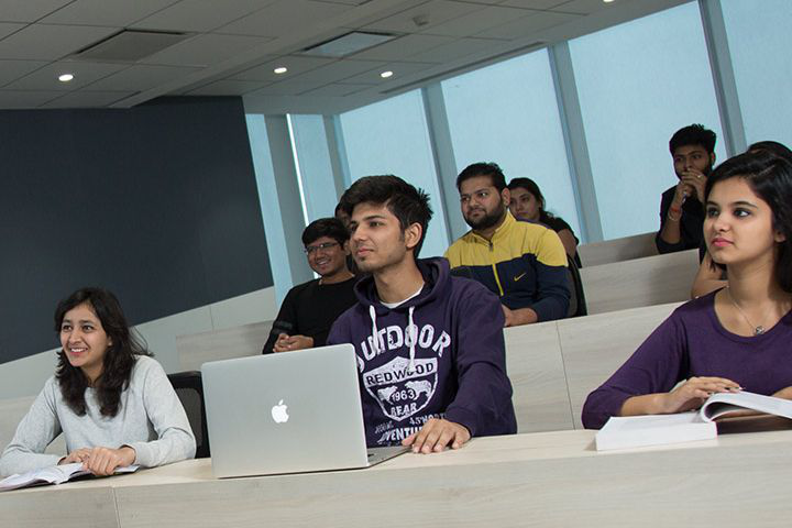 Bennett University, Greater Noida  Classroom of Bennett University Greater Noida
