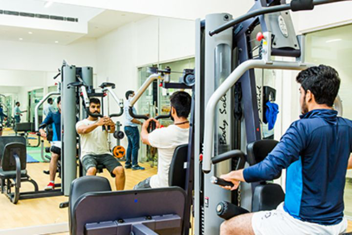 Bennett University, Greater Noida  Gym Facility at Bennett University Greater Noida