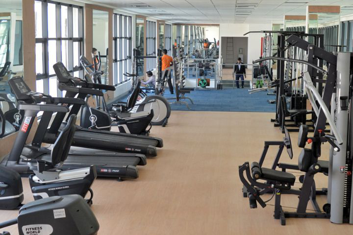 Bennett University, Greater Noida  Gym Equipment at Bennett University Greater Noida