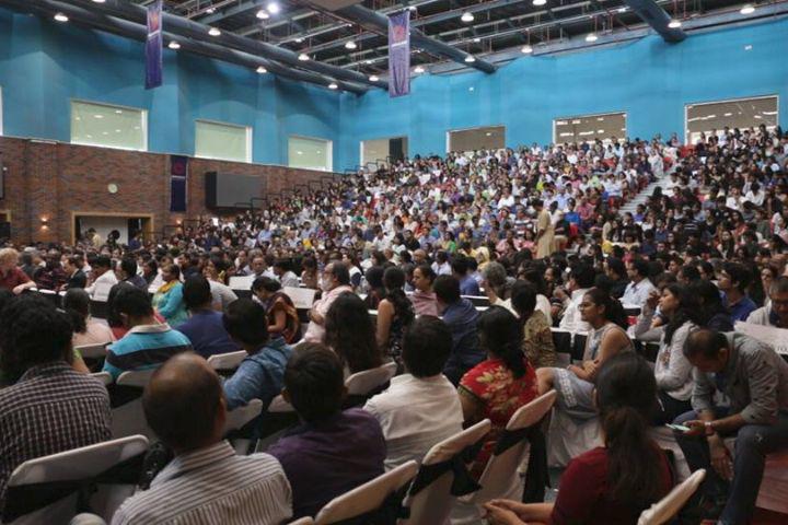 Ashoka University, Sonepat  Auditorium view of Ashoka University Sonepat