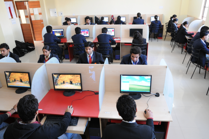 Jaipur National University, Jaipur IT Lab View of Jaipur National University Jaipur