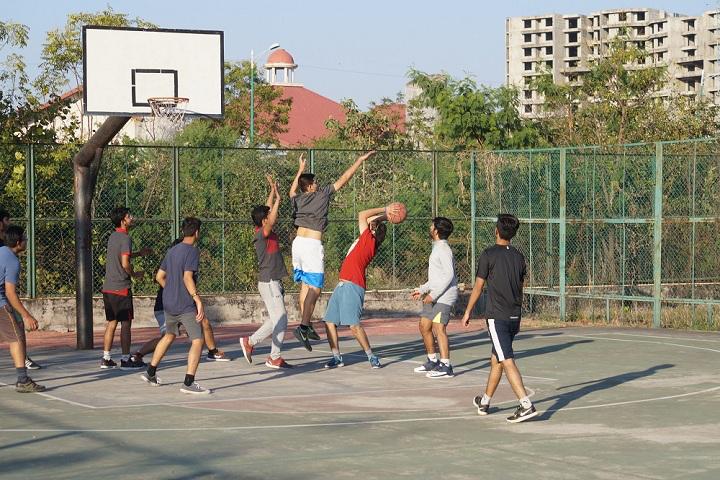 Maharashtra National Law University, Nagpur Basketball court at Maharashtra National Law University Nagpur