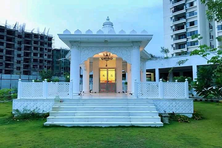 Maharashtra National Law University, Nagpur Temple at Maharashtra National Law University Nagpur