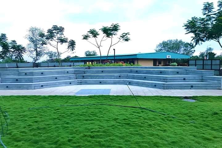 Maharashtra National Law University, Nagpur Open Amphitheater at Maharashtra National Law University Nagpur