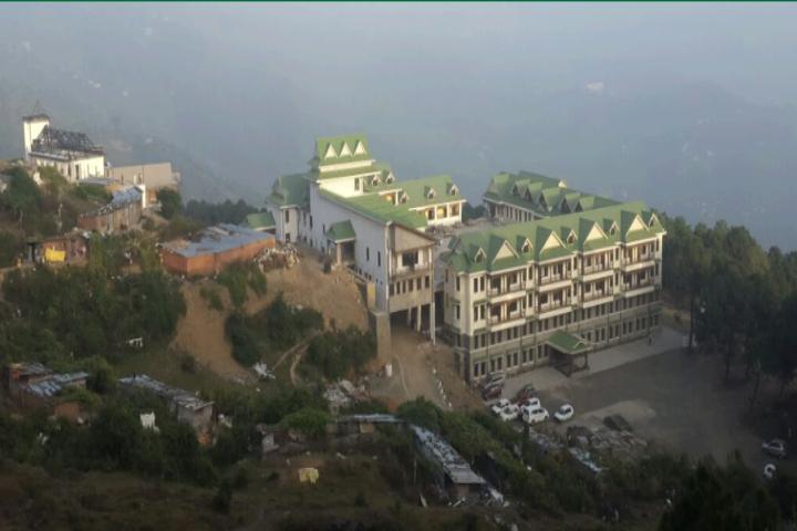 Himachal Pradesh National Law University, Shimla University View of Himachal Pradesh National Law University Shimla